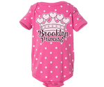 Brooklyn Princess Pink Polka Dot Romper