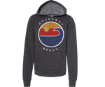 Rockaway Globe Fleece Heather Gray Youth Hoodie