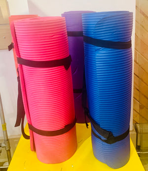 Super thick Yoga Mat with carry strap