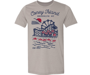 * Coneytown Kids Tee in Stone