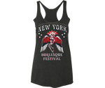New York Burlesque Festival 2019 Black Racer Back Tank