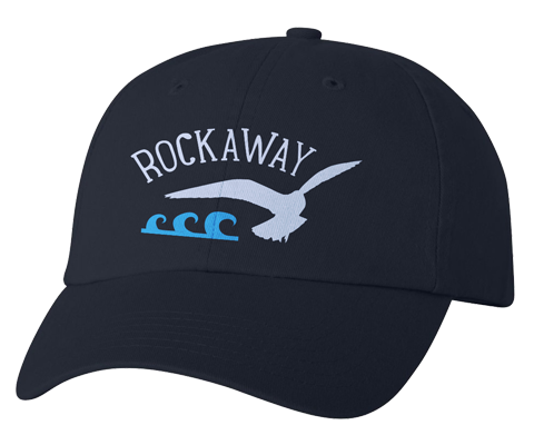 Load image into Gallery viewer, Rockaway Seagull Wave Navy Hat