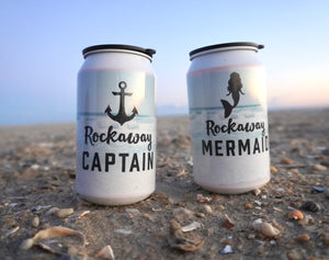 Load image into Gallery viewer, Rockaway Mermaid & Captain To Go Cocktail Cup Set