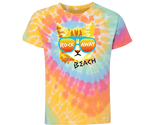 Rockaway Rad Cat Tie Dye Kid's Tee