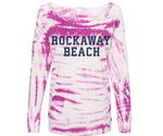 Rockaway Pink Cloud Tie Dye Fleece Hoodie