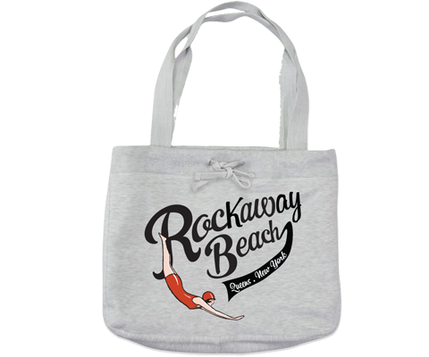 Load image into Gallery viewer, Rockaway Swimmer Heather Gray Beach Bag