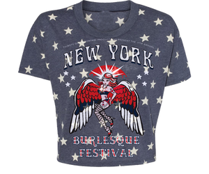 New York Burlesque Festival 2019 Star Crop Top