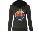 Rockaway Globe Dark Gray Fleece Hoodie