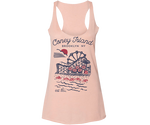 Coneytown Heather Peach Racer Tank