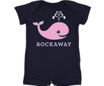 Rockaway Whale Baby Onesie with Shorts