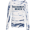 Rockaway Cloud Blue Tie Dye Fleece Sweatshirt