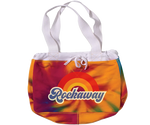 Rockaway Rainbow Fleece Tie Dye Beach Bag