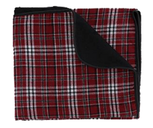 Rockaway Plaid Picnic Beach Blanket