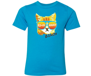 Load image into Gallery viewer, Rockaway Rad Cat Kid's Tee