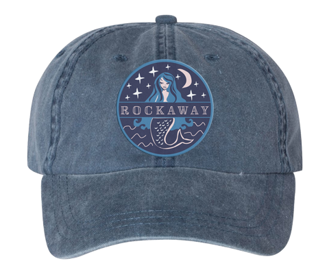 Rockaway Starlight Mermaid Embroidered Denim Hat