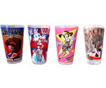 New York Burlesque Festival Pint Glass Collection (set of 4)