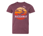 Rockaway Orange Sunrise Kids Tee