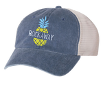 Rockaway Pineapple Gray/Stone Mesh Back Hat