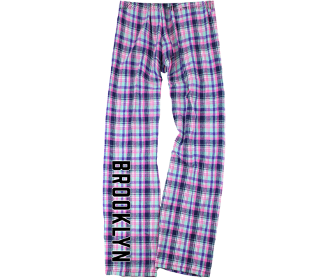 Malibu Plaid Kids Brooklyn Pajama Pants