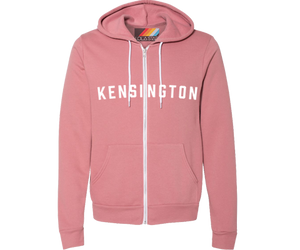 Brooklyn Neighborhood Mauve Hoodie- Lots of Neighborhoods Available!