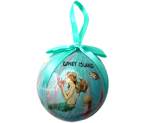 Coney Island Mermaid Dreams Ornament