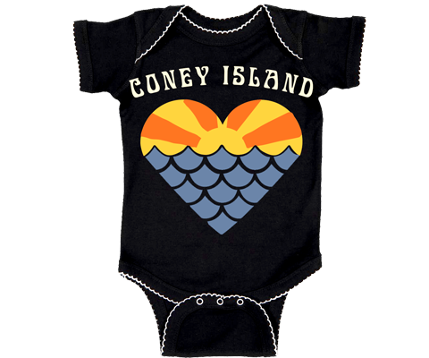 Mermaid Sunset Navy Onesie