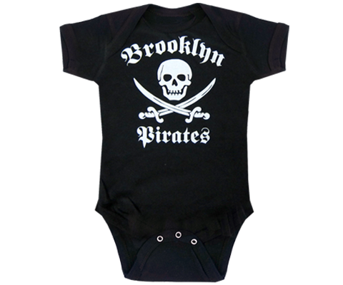 Brooklyn Pirates Onesie