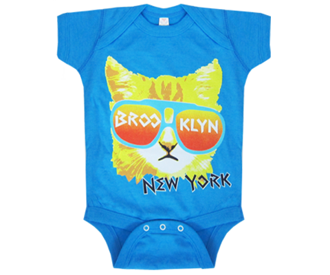 Brooklyn Rad Cat Onesie
