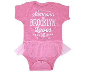Load image into Gallery viewer, Someone in Brooklyn Loves Me Tutu Onesie