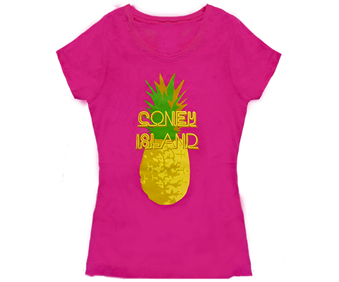 Coney Island Pineapple Kids Tee