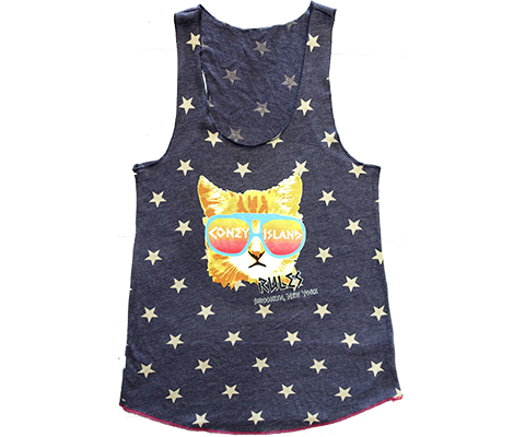 Coney Island Rad Cat Star Tank