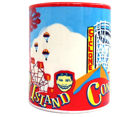 Load image into Gallery viewer, Coney Island Landmarks Mug