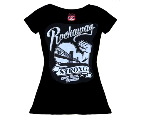 Rockaway Strong Scoop Neck Tee