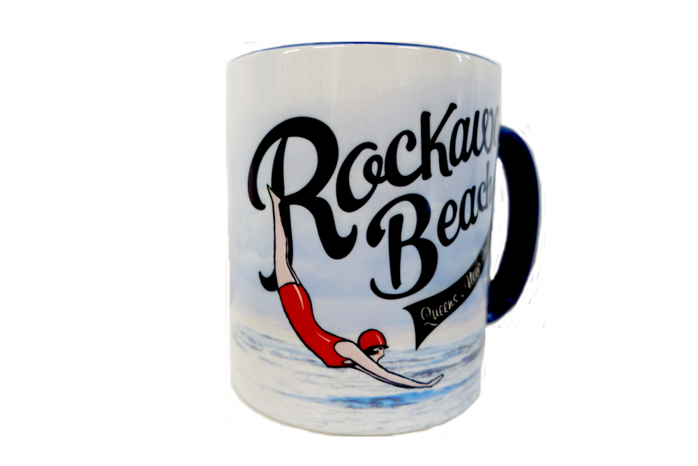 Load image into Gallery viewer, Rockaway Swimmer Mug