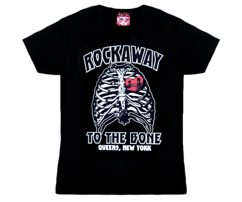 Rockaway to the Bone Adult Tee