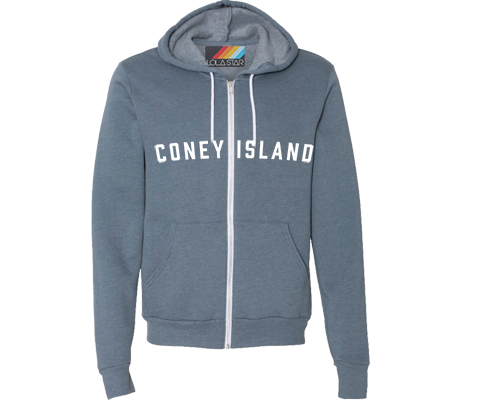 Brooklyn Neighborhood Steel Blue Hoodie- Lots of Neighborhoods Available!