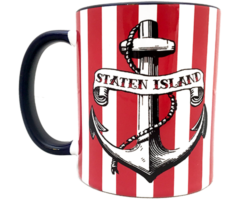 Load image into Gallery viewer, Staten Island Anchor Mug
