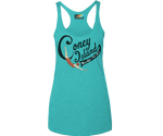 * Coney Island Swimmer Aqua Tank Top