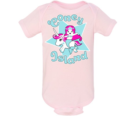 Unicorn Mermaid Light Pink Onesie