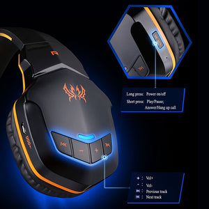 Cascos Gaming Bluetooth