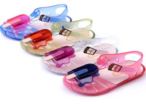 Popsicle Jelly sandals  (Mini Sed)