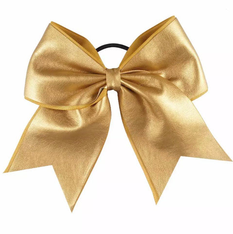 "7"" Vegan Leather bow"