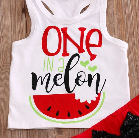 One in a Melon 2 pcs