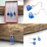Kent Sea Glass Jewellery Set