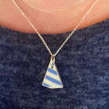 Scottish Sea Pottery Pendant from Ayrshire