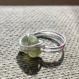 Olive Green Seaham Sea Glass - Size P