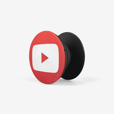 PopSocket Red Play Button