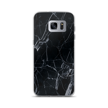 Load image into Gallery viewer, Black Marble - Samsung Case - $25.00 - Samsung Galaxy S7 Edge