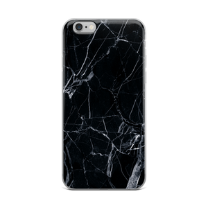 Black Marble - Iphone 6 Plus/6S Plus - Iphone Case