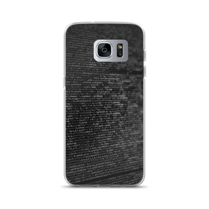Codes - Samsung Case - $25.00 - Samsung Galaxy S7 Edge